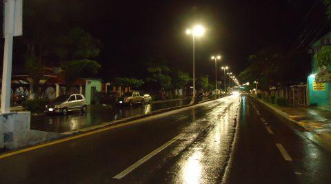 Alumbrado Público Avenida Central